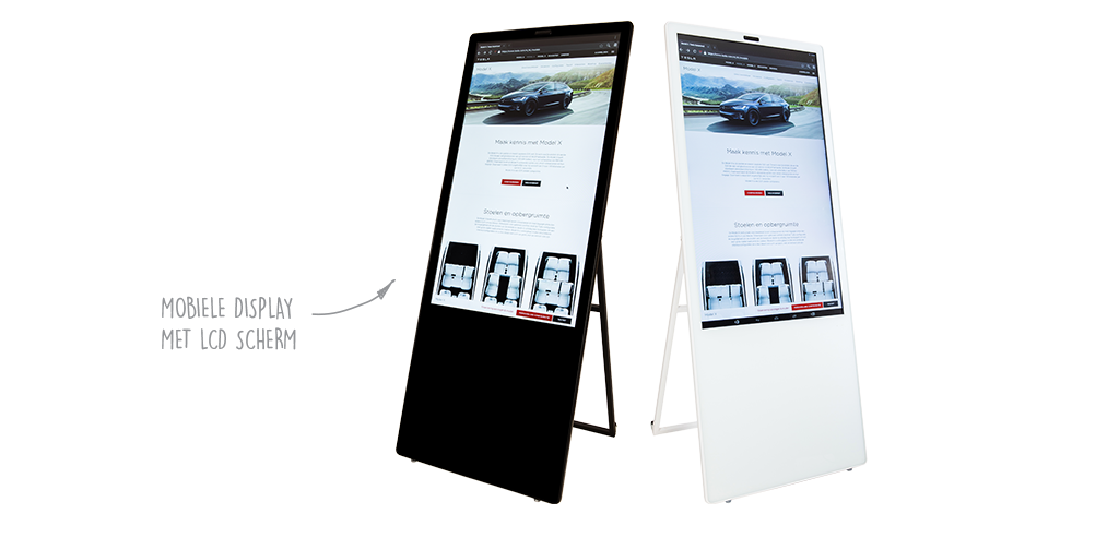digitale roll-up banner