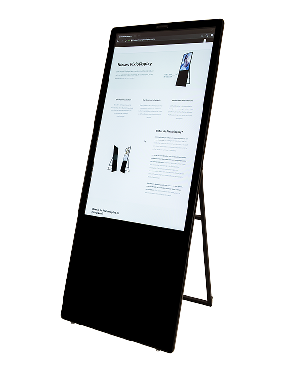Mobiel presentatiescherm vergaderruimtes