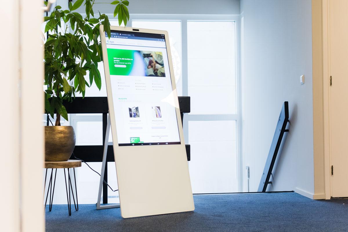 kantoor presentatie display