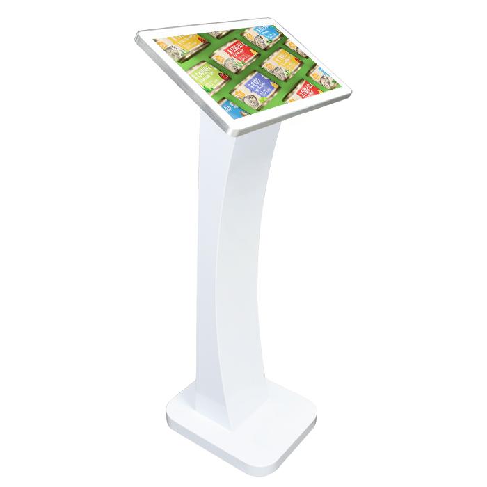 PixioDisplay Kiosk: Touchscreen op zuil, het perfecte welkomstscherm of voor het invoeren van gegevens op locatie.